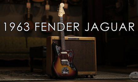 """Pick of the Day"" – 1963 Fender Jaguar"