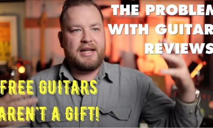 The problem with paid guitar reviews