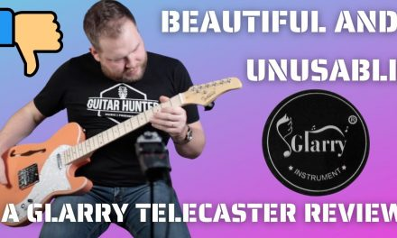 This thing is useless…the Glarry Thinline Telecaster