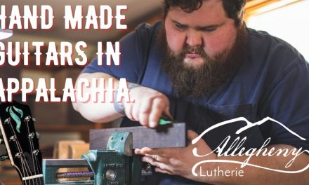 Meeting Ben Padgett with Allegheny Luthierie and Padgett Guitars