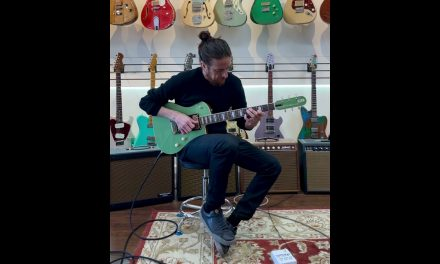 TLL Guitars Marvin Custom Build, Green Metallic 2021 / NEW (Authorized Dealer)