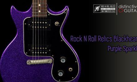 Rock N Roll Relics Blackheart DC | Purple Sparkle