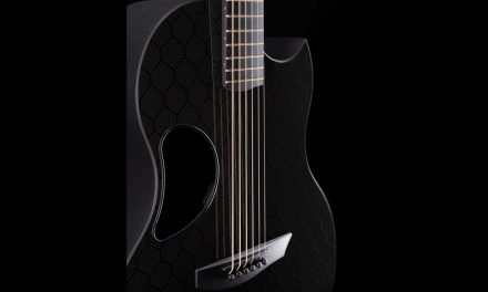McPherson Sable Blackout Edition Honeycomb Guitar by Guitar Gallery
