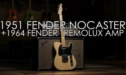 """""""Pick of the Day"""" – 1951 Fender Nocaster and 1964 Tremolux Amp"""