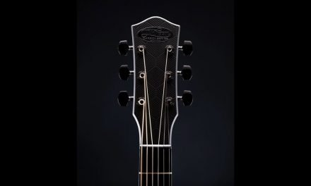 McPherson Sable Blackout Honeycomb Guitar by Guitar Gallery