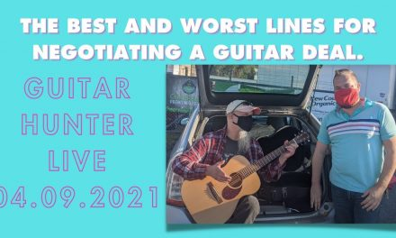 The best and worst lines for buying Guitars I Guitar Hunter Live 04.09.2021