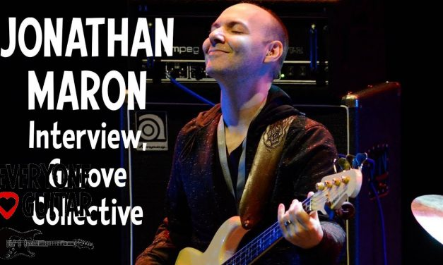 """Jonathan Maron Interview, NYC Groove Collective """"I'm NOT a very good liar…"""""""
