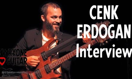 """Cenk Erdogan Interview, Fretless Guitar """"Suddenly I'm in the movie I've been watching my whole life"""""""