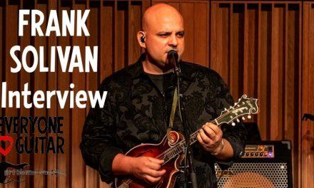 """Frank Solivan Interview: """"We're the gateway drug to bluegrass…"""""""