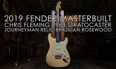 """""""Pick of the Day"""" – 2019 Fender Chris Fleming Masterbuilt Stratocaster"""