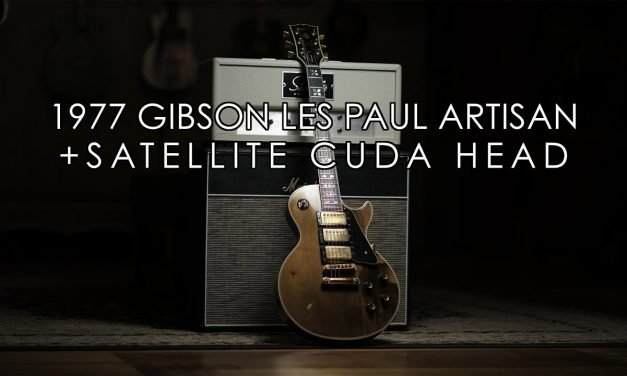 """""""Pick of the Day"""" – 1977 Gibson Les Paul Artisan and Satellite Cuda Head"""