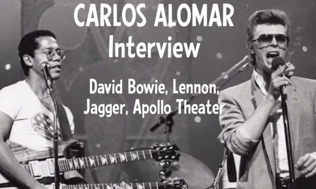 """Carlos Alomar Interview, David Bowie: """"If you can't explain it, you can't defend it…"""""""