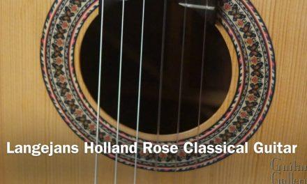 Langejans Holland Rose Classical at Guitar Gallery