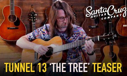 Santa Cruz OM Custom – Tunnel 13 Redwood & The Tree Mahogany #5844