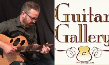 Schwartz Oracle Guitar by Guitar Gallery
