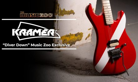 Introducing the Music Zoo Exclusive Kramer 'Diver Down' 84!