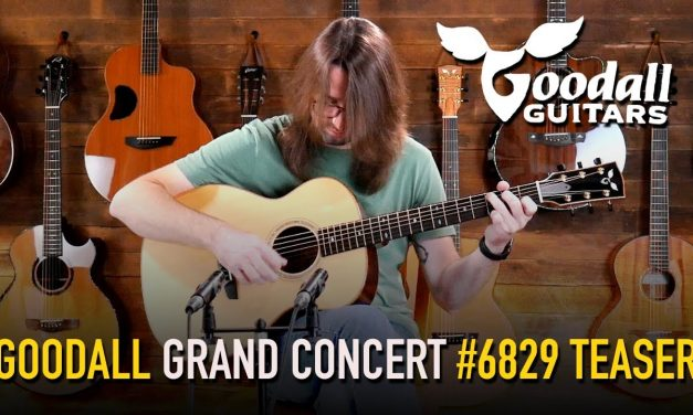 Goodall Grand Concert – Master Grade Sitka Spruce & East Indian Rosewood #6829