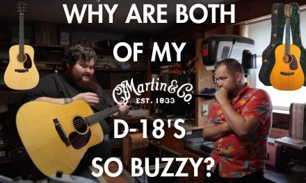 I have truss (rod) issues with both of my @Martin Guitar D-18's…featuring Padgett Guitars.