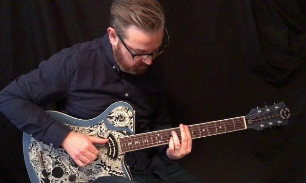 BilT Art Deco Guitar at Guitar Gallery