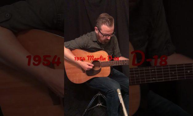 1954 Martin D-18 Guitar short