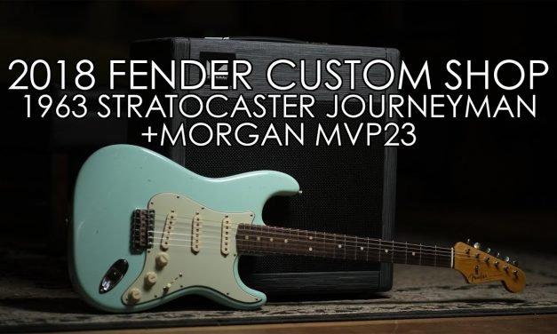 """""""Pick of the Day"""" – 2018 Fender Custom Shop 1963 Stratocaster Journeyman Relic and Morgan MVP23"""