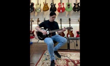 "Tao Guitars Disco Volante 2021 ""Fordy Nine"" Sienna Orange / Black NEW (Authorized Dealer)"