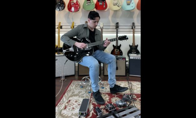 "Tao Guitars Phaeton ""Villa D'Este"" NEW Black / Cherry (Authorized Dealer)"