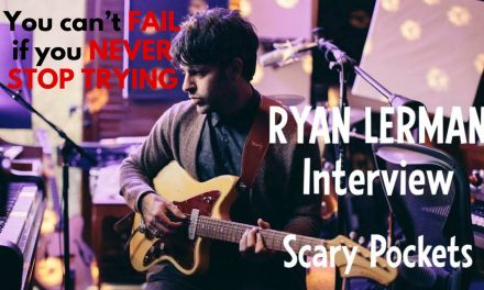 """""""You can't FAIL if you NEVER STOP TRYING""""   Ryan Lerman from Scary Pockets"""