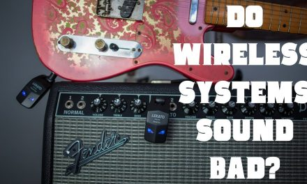 Can you hear the difference between a guitar cable and a wireless?