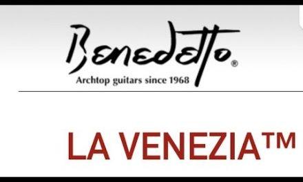 """Benedetto """"La Venezia"""" Archtop by Guitar Gallery"""