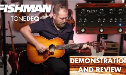 How I use the @Fishman Transducers  ToneDEQ and what I think of it.
