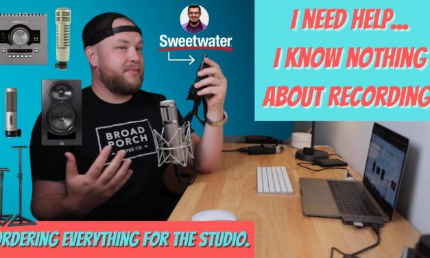 I need advice on how to build my studio with @Sweetwater