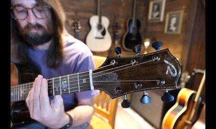 Unboxing Matt's New Ryan Guitars Paradiso Grand Concert