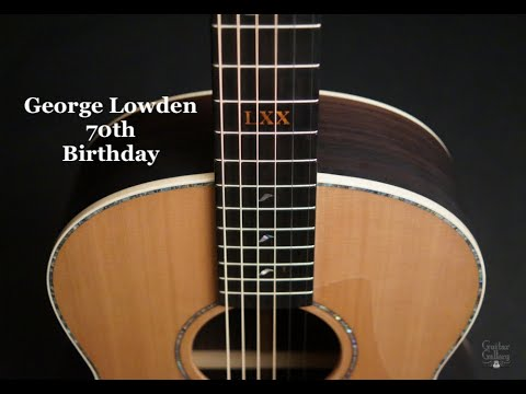 Lowden F38 George Lowden 70th Birthday Guitar by Guitar Gallery