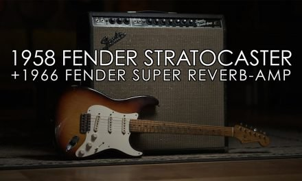 """""""Pick of the Day"""" – 1958 Fender Stratocaster and 1966 Super Reverb"""