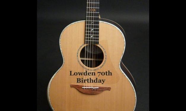 George Lowden 70th Birthday Guitar by Guitar Gallery