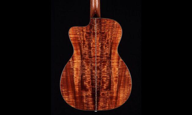 Bourgeois 00c Koa Guitar by Guitar Gallery