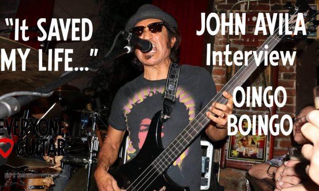 """That was TOO MUCH PRESSURE for me…"" John Avila, Oingo Boingo"