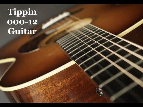 Tippin Sunburst 000 12 Guitar by Guitar Gallery