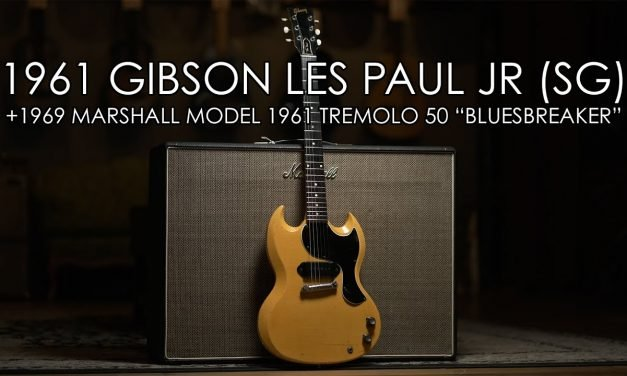"""""""Pick of the Day"""" – 1961 Gibson Les Paul Jr (SG) and 1969 Marshall 'Bluesbreaker'"""