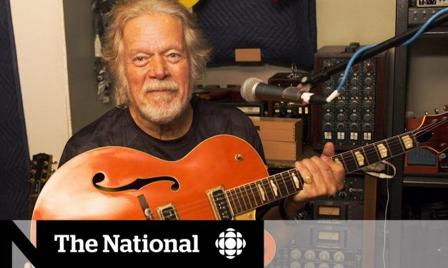 Randy Bachman reunited with lost guitar after 45 years