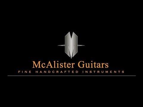 McAlister Cuban Mahogany Lucas Model Guitar by Guitar Gallery