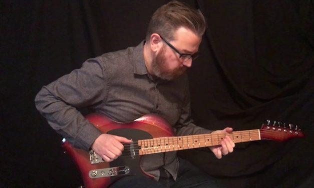 Abasi Space T Guitar at Guitar Gallery