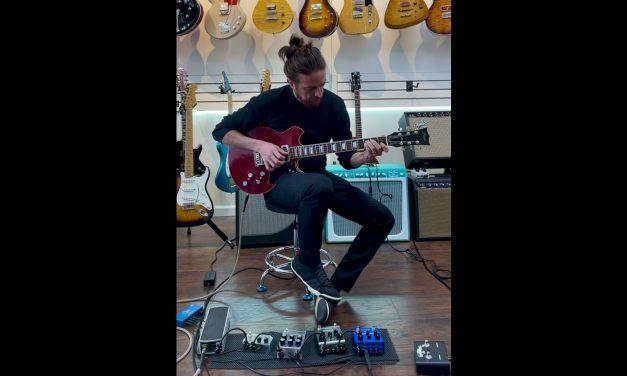 Fiam Guitars Nightingale by Ex Ronin Luthier Izzy Lugo, 2021 Wine Red/Black NEW (Auhthorized Dealer)