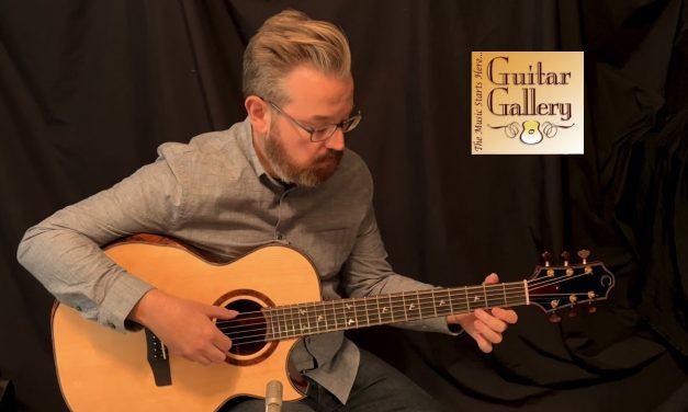 Charis SJ cutaway Brazilian Rosewood Guitar by Guitar Gallery